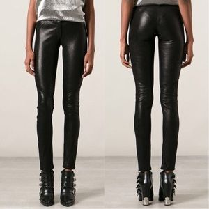 Faith Connexion Shinny Leather Pants